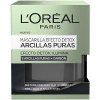 Mascarilla arcilla negra L`OREAL Dermo Expertise, tarro 50 ml