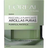 Mascarilla de arcilla verde L`OREAL Dermo Expertise, tarro 50 ml