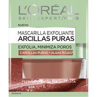 Mascarilla arcilla roja L`OREAL Dermo Expertise, tarro 50 ml