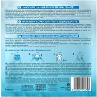 Mascarilla energizante SKIN ACTIVE, pack 1 ud
