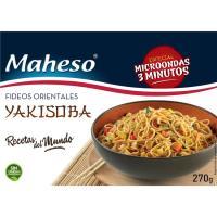 Fideos orientales Yakisoba MAHESO, caja 270 g