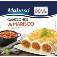 Canelones de marisco MAHESO, caja 300 g