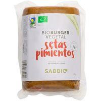Bio burguer de setas-pimiento SABBIO, paquete 750 g