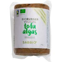 Bio burguer de tofu-algas SABBIO, paquete 750 g