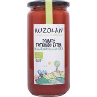 Tomate triturado ecológico AUZOLAN, frasco 660 g