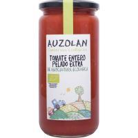 Tomate entero ecológico AUZOLAN, frasco 400 g