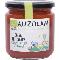 Salsa de tomate frito ecológico AUZOLAN, frasco 315 g