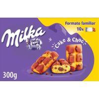 Galleta cake&choc MILKA, caja 350 g