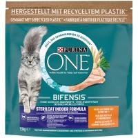 Alimento de pollo gato esterilizado PURINA One, paquete 1,5 kg