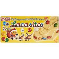 Lacasitos turrón de chocolate blanco LACASA, caja 200 g
