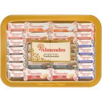 Selección de turrones EL ALMENDRO, bandeja 400 g