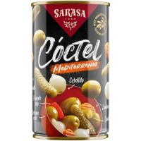 Cocktail Los Antojos del Olivar SARASA, lata 180 g