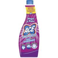 Spray Mousse lejía con desengrasante ACE, recambio 70 cl