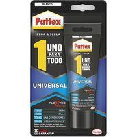 """Adhesivo/Sellador """"Uno Para Todo"""" color blanco PATTEX, tubo 142gr"""