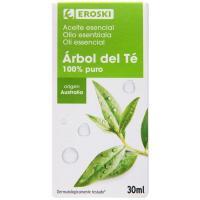 Aceite 100% puro Árbol del Té EROSKI, bote 30 ml