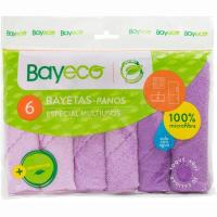 Bayeta microfibra multiusos BAYECO, pack 6 unid.