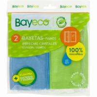 Bayeta especial cristales BAYECO, pack 2 unid.