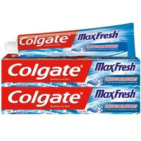 Dentífrico Max Fresh COLGATE, pack 2x75 ml