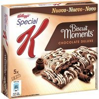 Barritas Biscuit Moments con chocolate SPECIAL K, caja 125 g