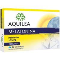 Comprimidos melatonina 1,95 mg AQUILEA, caja 30 cápsulas