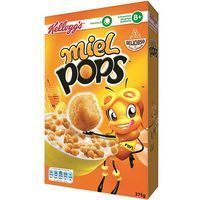 Cereales KELLOGG'S Miel Pop's, caja 375 g