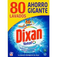 Detergente en polvo DIXAN, maleta 80 dosis