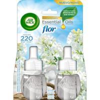 Ambientador eléctrico Flor 10% AIRWICK, recambio 2 unid.