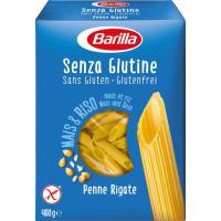 Penne Rigate sin gluten BARILLA, caja 400 g