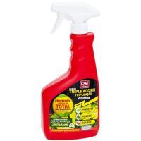 Insecticida triple acción: insectos,ácaros y hongos IKEBANA, pulverizador 750ml