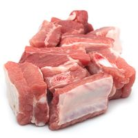 Tiras de costilla de cerdo, al peso, compra mínima 500 g