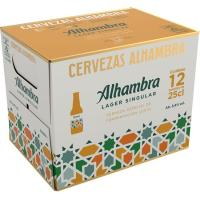 Cerveza Especial ALHAMBRA, pack 12x25 cl