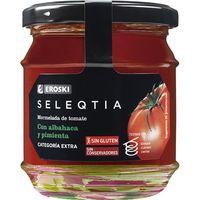 Mermelada de tomate con albahaca y pimienta