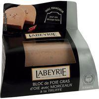 Bloc foie gras de oca con trufa LABEYRIE, blister 190 g