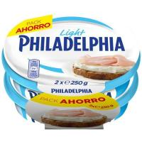 Queso light PHILADELPHIA, pack 2x250 g