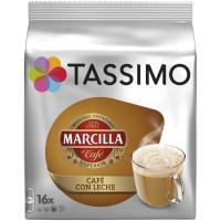 Café con leche TASSIMO Marcilla, paquete 16 monodosis