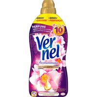 Suavizante aromaterapia orquidea dorada VERNEL, garrafa 76 dosis
