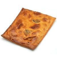 Empanada de pollo con champis EROSKI, 450 g