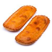 Empanada bocata de atún EROSKI, 2 unid., bandeja 225 g