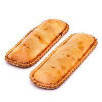 Empanada de bocata de pollo EROSKI, 2 unid., bandeja 225 g