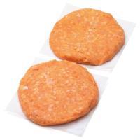 Hamburguesa de pollo-zanahoria, al peso, compra mínima 250 g