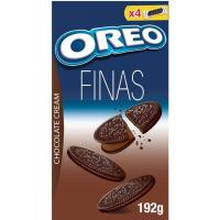 Galleta Finas de chocolate OREO, caja 192 g