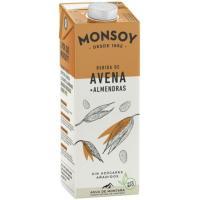 Bebida de Avena-Almendra MONSOY, brik 1 litro