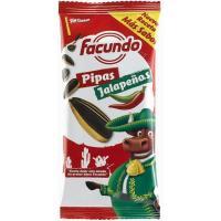 Pipas jalapeñas FACUNDO, bolsa 90 g