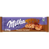 Chocolate de caramelo-cacahuete MILKA, tableta 276 g