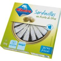 Sardinilla en aceite de oliva RIBEIRA, lata 266 g