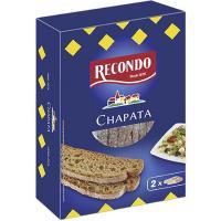 Pan chapata RECONDO, caja 167 g