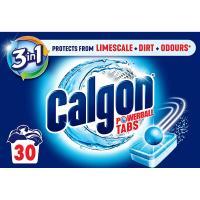 Antical-Suciedad pastillas 2en1 CALGON, caja  30 dosis
