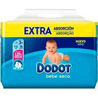 Pañal azul 7-11 kg Talla 3 extra DODOT, paquete 78 unid.
