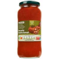 Tomate con aceite oliva receta tradicional EROSKI, frasco 550 g