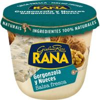 Salsa gorgonzola-nueces RANA, tarrina 180 g